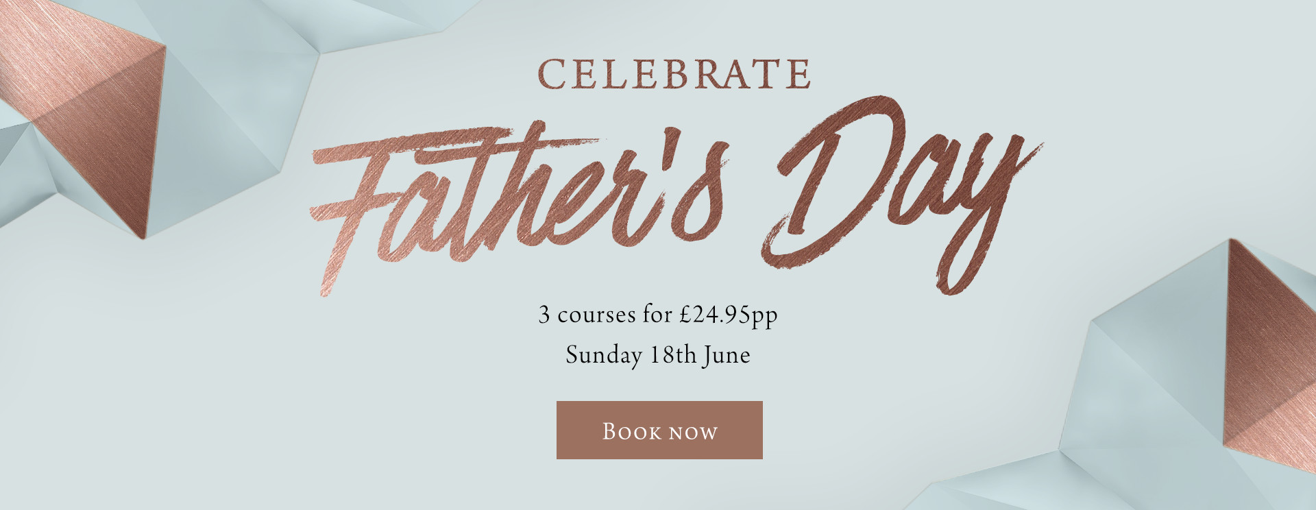 Father's Day at The Inn at Maybury - Book now