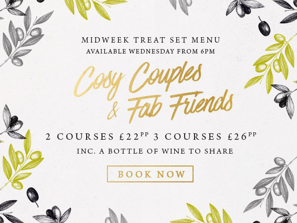Midweek treat at The Inn at Maybury - Book now